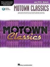 Instrumental Play-Along: Motown Classics - Alto Saxophone, Good Condition Book,