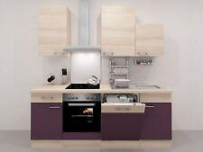 komplett k chen mit sp le und elektroherd g nstig kaufen ebay. Black Bedroom Furniture Sets. Home Design Ideas