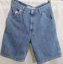 "Jean Shorts Blue Denim Carpenter Gap 34w Actual 9 1/2"" Inseam Faded Relaxed Fit"