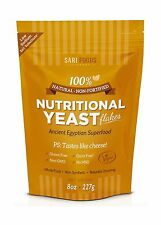 Sari Foods Company Natural Non-fortified Nutritional Yeast Flak... Free Shipping