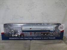 DCP 1/64 FLORADALE FEED MILL TRUCK KENWORTH WALINGA 5 AXLE TRACTOR TRAILER