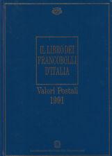 Il libro dei francobolli d'Italia - Valori Postali 1991