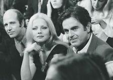 SERGIO GOBBI VIRNA LISI GUY BEART 1971  PHOTO  ORIGINAL  ORTF TV