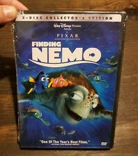 2003 Finding Nemo Dvd 2-Disc Set Brand New & Sealed Hard To Find Classic Disney