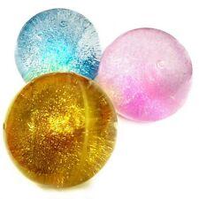 Glitter Water Bouncy Ball Sensory Toy - Fiddle Fidget Stress Sensory Autism ADHD