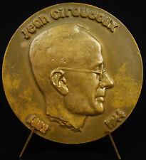 Médaille Jean Giraudoux écrivain & diplomate Amphitryon 38  Ondine Théatre medal