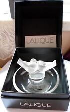 Lalique simplemente Cendrier Bandeja/Pin Bandeja Amor Aves de lujo de raro