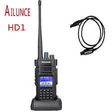 Ailunce HD1 Dual Band DMR Digital DCDM TDMA 100000 Contacts Walkie Talkies Radio