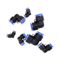 5Pcs Pneumatic Push In Elbow Fitting Connector PV for Water Hose Tube Airline_ne