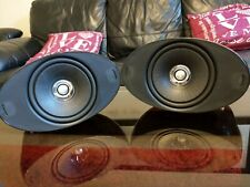 KEF HTS3001 Home Cinema stereo hi-fi Surround Speakers X2 In Black With Manual