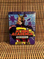 My Hero Academia: Season Two, Part One (4-Disc Blu-ray/DVD,2018)+Slipcover.Anime