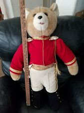 Tilly Collectibles 1987 Christmas bear 29 inches tall