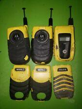 Motorola Nextel i530 (2) i560 (1)- Yellow Black Phones Untested For Parts/Repair