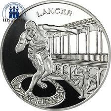 France 1,5 euro argent 2003 pp Athlétisme Coupe du monde à paris: se heurtent-lancer