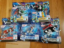 5x Dreamworks VOLTRON LEGENDARY DEFENDER Wave3 Red Blue Black Sword Lion Attack