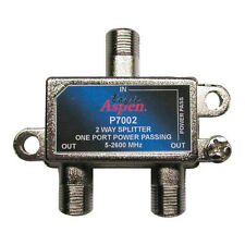 Eagle 2-Way Splitter 1 Port Power Passing 5 MHz to 2600 MHz 2 GHz Satellite CATV