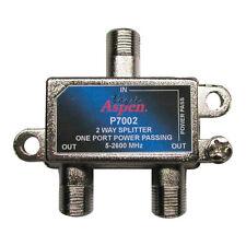 Eagle 2-Way Splitter 1 Port Power Passing 5 MHz to 2600 MHz 2 GHz Satellite CATV