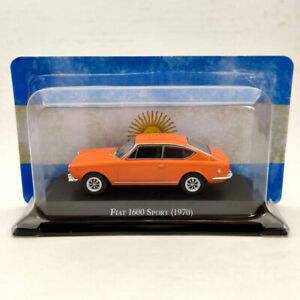 IXO 1/43 Fiat 1600 Sport 1970 Orange Diecast Models Limited Edition Collection