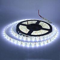 White 5M Waterproof 300 LED 5050 SMD Flexible LED Light Lamp Strip DC 12V
