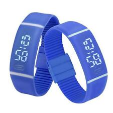 Unisex Sport Reloj De Hombre Mujer LED Pulsera Digital