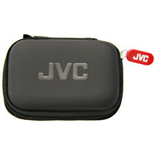 BRAND NEW JVC HPCASE Compact Carry Case for Earphones - Black