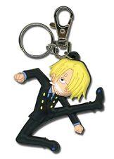 **License** One Piece PVC Keychain SD Sanji Kick #4885
