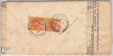 51813 - CEYLON - POSTAL HISTORY -  WRAPPER + NEWSPAPER 1924 to SWITZERLAND