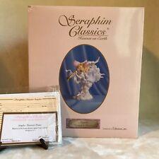 "Seraphim Classics ""Angela Heaven's Praise� 2001 Angel Figurine by Roman, Inc."
