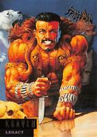 KRAVEN / Spider-Man Fleer Ultra 1995 BASE Trading Card #64