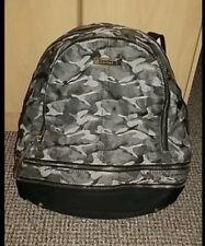 River Island bag river island backpack Rucksack grey combat camouflage print