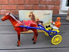Quercetti Sulky A Italy In Its Original Box - Excellent Vintage Original Horse