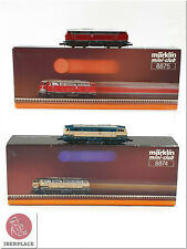 Z 1:220 escala Märklin mini-club trenes locomotora locomotive Set 8874 + 8875 <