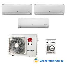 CLIMATIZZATORE INVERTER LG TRIAL SPLIT 9000+9000+12000 9+9+12 BTU A++ MU3M19