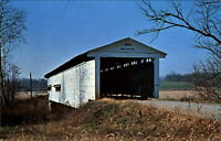 Portland Mills Covered Bridge ~ Parke County Indiana ~ Big Raccoon Creek