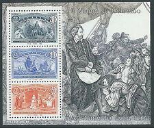1992 ITALIA FOGLIETTO COLOMBO 200+900+1500 LIRE MNH ** - B4