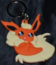 Flareon # 136 Pokemon Key Chains Keychains 1st Generation Series Fire Type