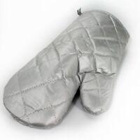 Backhandschuh Ofenhandschuh Kochhandschuh grau mit Teflon-Beschichtung