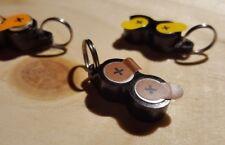 Batterie-Schlüsselanhänger für Hörgeräte Typ 312, Farbcode BRAUN