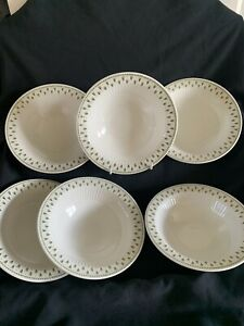 """ADAMS MEADOWLANDS IRONSTONE 6 X 6.5"""" rimmed SOUP/CEREAL/FRUIT BOWL"""