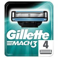 Gillette Mach3 Razor Blades for Men - Pack of 4 - NEW PACK: !!PRESALE!!