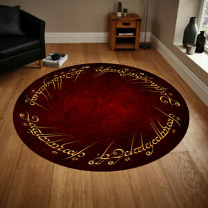 Lord Of The Rings 28, Round Rug, Fan Carpet,Rug For Living Room,Room Decor