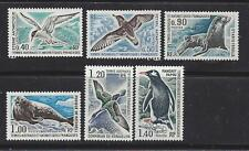 FRENCH SOUTHERN & ANTARCTIC TERR - 58-63 - MH - 1976 - ANTARCTIC BIRDS