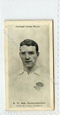 (Ga7322-437) Wills, Football Series, #51 R.W.Bell, Northumberland Rugby 1902 VG+