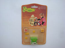 The littles Mattel 1980 - accessoire neuf sous blister - table ref 1789