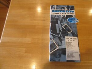 """HTF 1967 Ideal Super City """"Town & Country Building Set"""", parts tray top ONLY,VG+"""