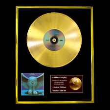 RUSH FLY BY NIGHT CD GOLD DISC RECORD DISPLAY FREE P&P!