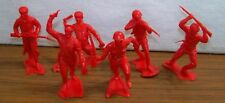 Marx Toys, WW II Series, Set of 6 inch figures Russian