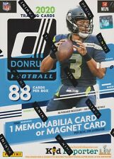 2020 Donruss Football sealed blaster box 11 packs of 8 NFL cards