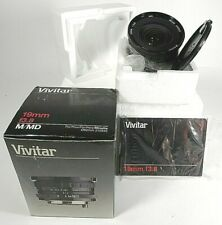 Vivitar 19mm/f3.8 Interchangeable Macro Lens for Minolta (BRAND NEW!)
