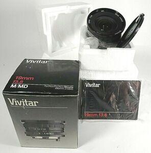 Vivitar 19mm/f3.8 Interchangeable Macro Lens for Minolta New